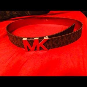 Michael Kors logo belt